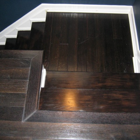 Hardwood Floor Construction In LA