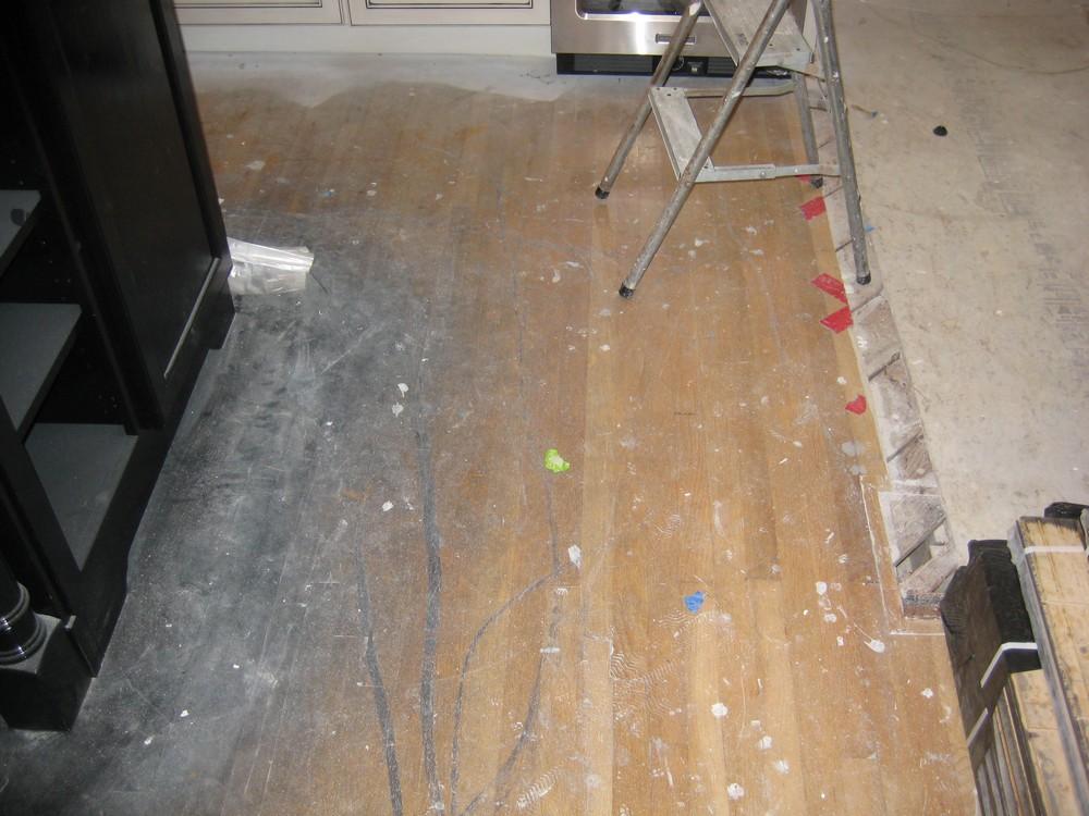 Hardwood Floor Reconstruction
