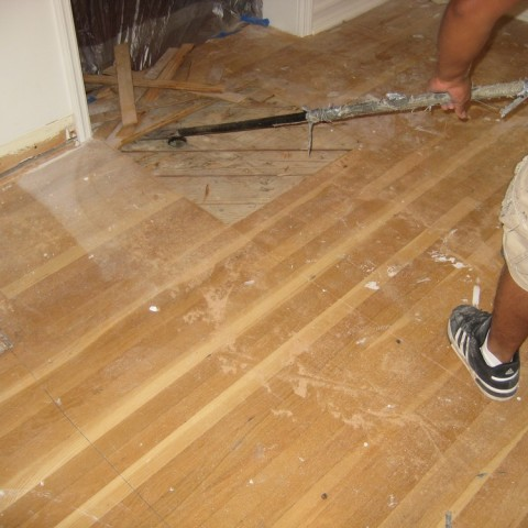 Hardwood Floor Remodel Los Angeles