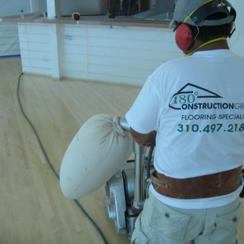 Hardwood floor sand refinish  experts in los angeles