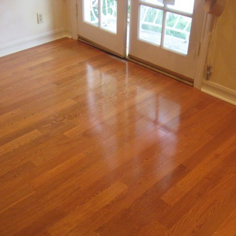 New Hardwood floor in LA