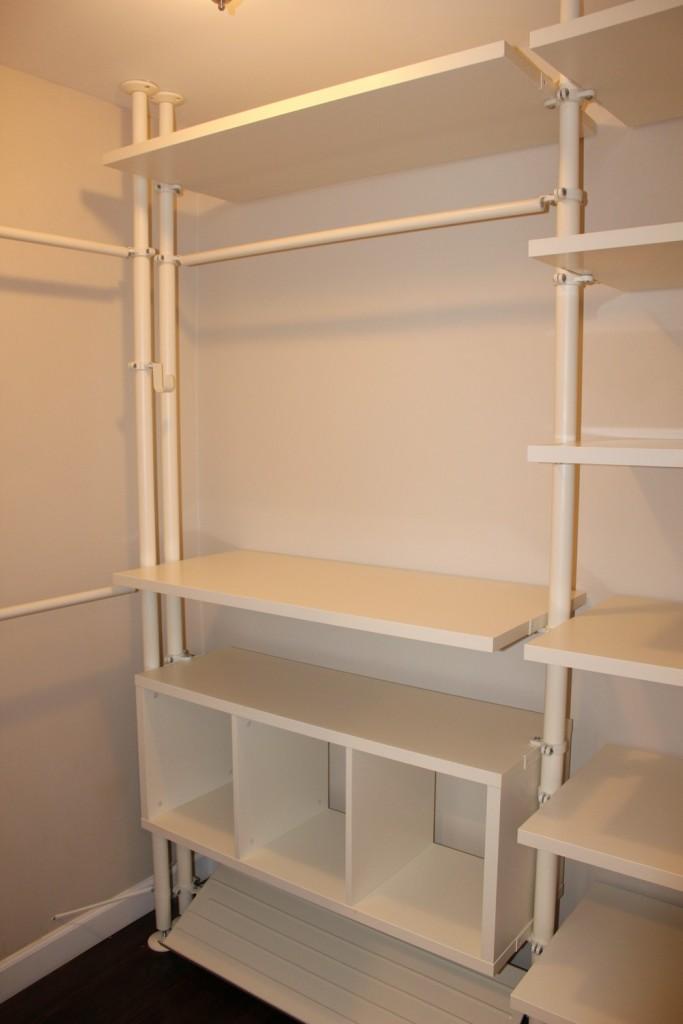 Total remodel closet