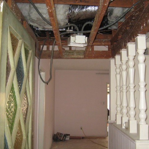 Total remodel insulation