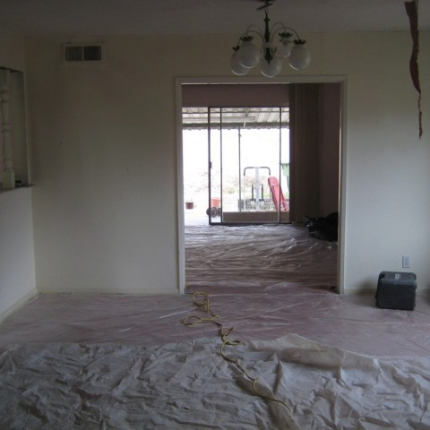 Total remodel painting in la