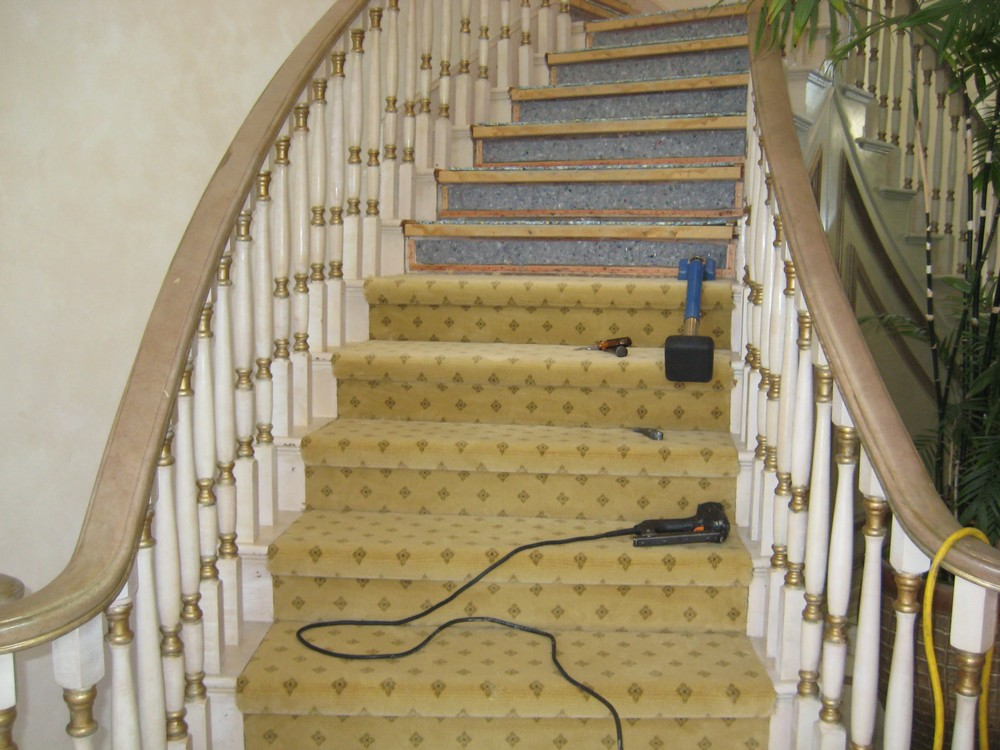 industrial Carpet-stairs
