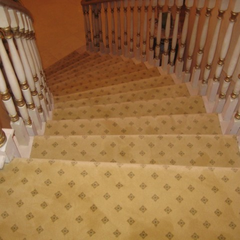 Residential Carpet Stairs Los Angeles