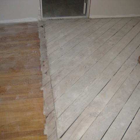 total remodel for kitchen floor